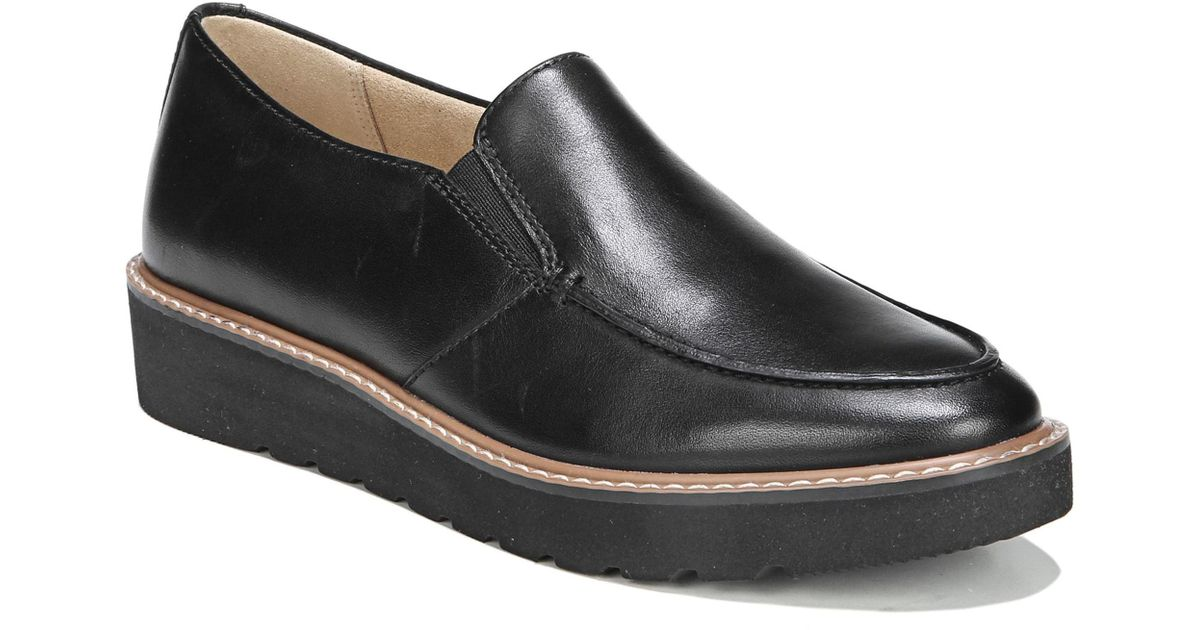 5242f49a8fb Lyst - Naturalizer Aibileen Loafer in Black