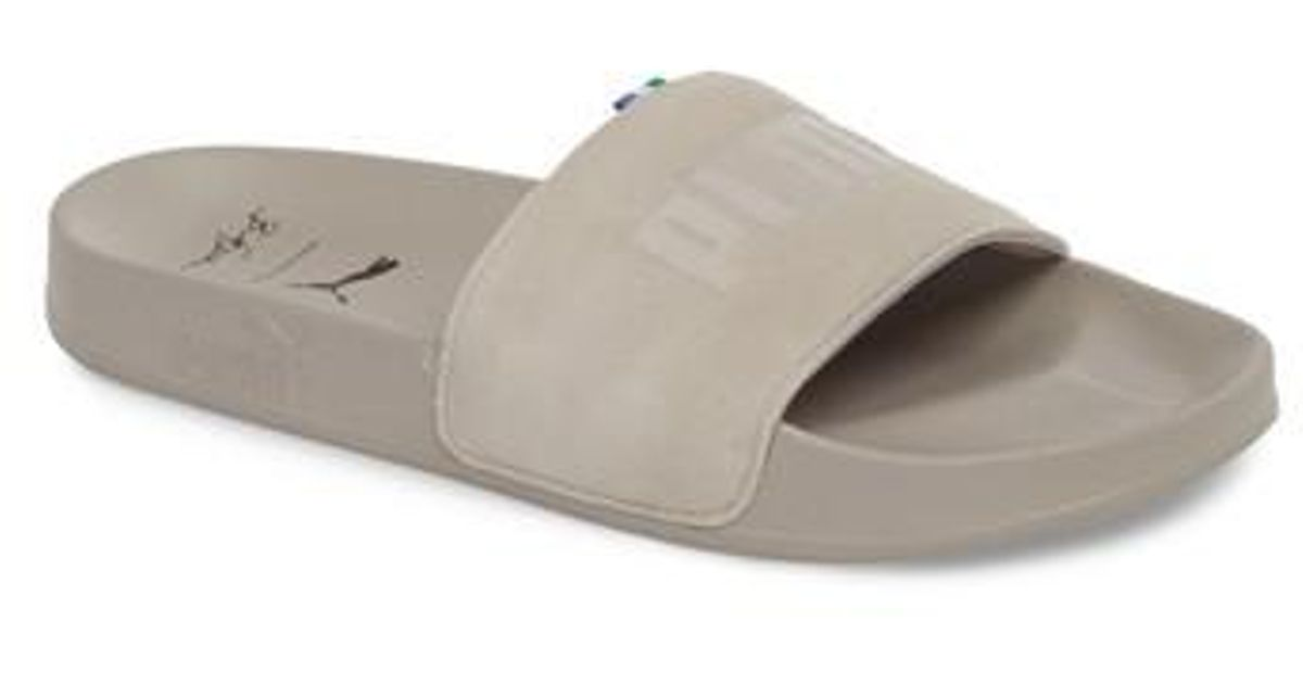 b79e9d7dc4e6 Lyst - PUMA X Big Sean Leadcat Slide Sandal in White
