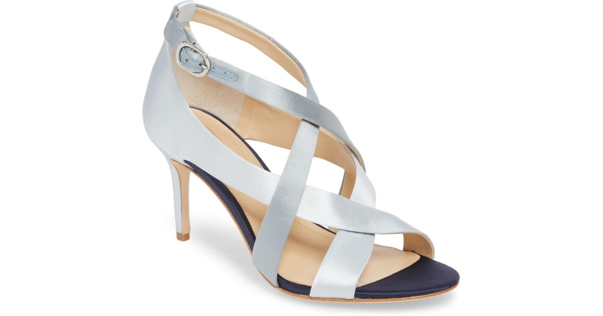 307a9d505efb Lyst - Imagine Vince Camuto Paill Heeled Sandal in Blue - Save 59%
