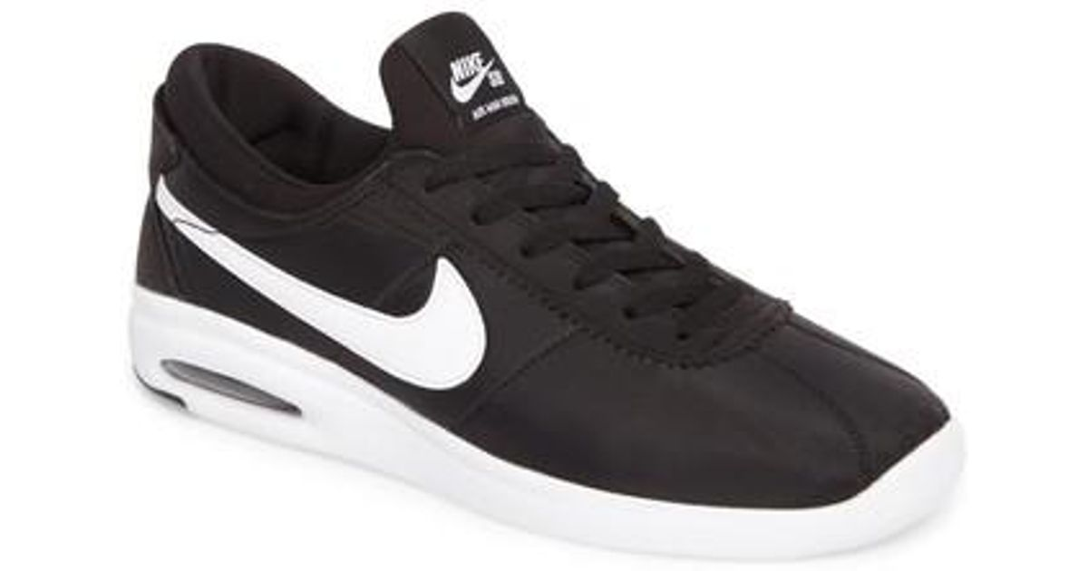 63a8f44e8a7 Lyst - Nike Sb Air Max Bruin Vapor Txt Skateboarding Sneaker in Black for  Men - Save 56%