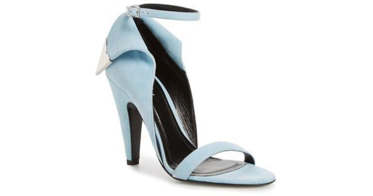 pre order for sale buy cheap clearance store CALVIN KLEIN 205W39NYC Leititia Suede Sandals YSwUeR