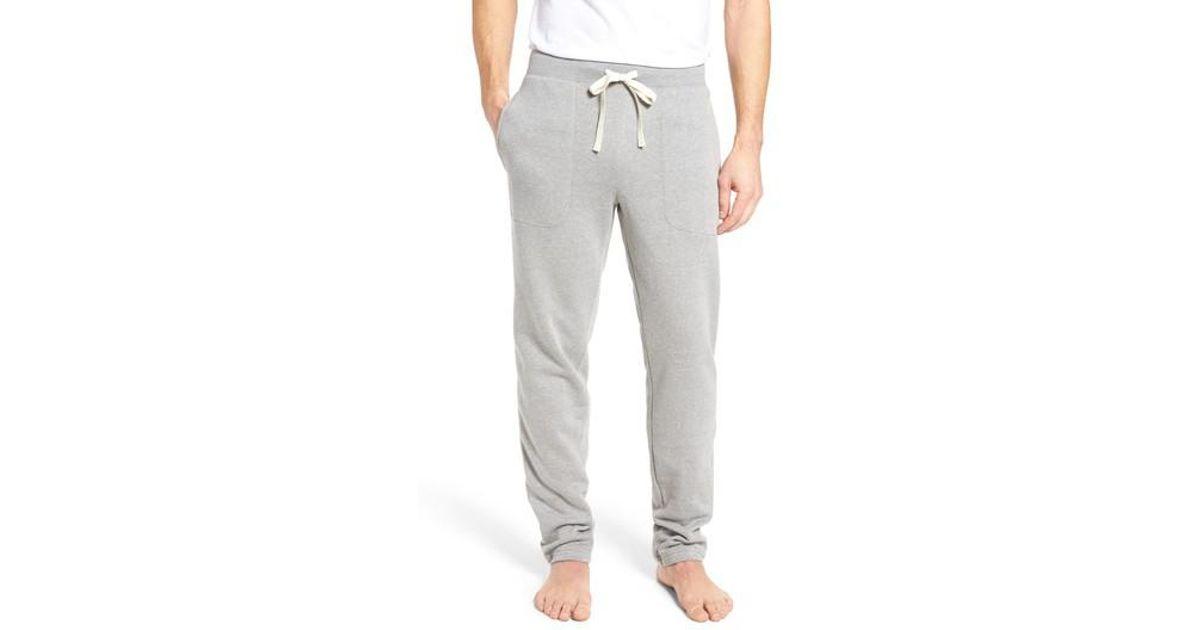 Lyst Polo Ralph Lauren Slim Fit Brushed Fleece Pajama Pants In