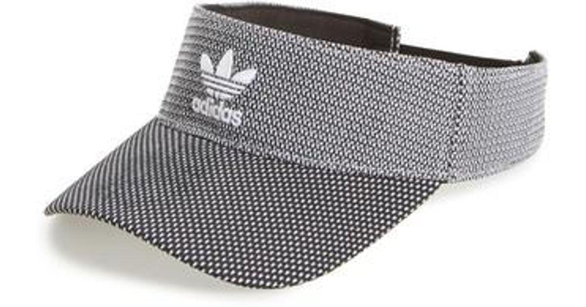 3df8728ea54fa Lyst - adidas Originals Prime Visor in Black
