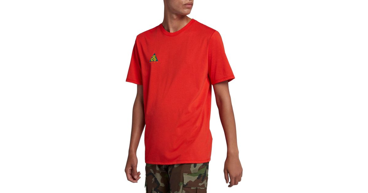 5d4c9b67ae02d8 Lyst - Nike Sportswear Acg Graphic Tee in Red for Men