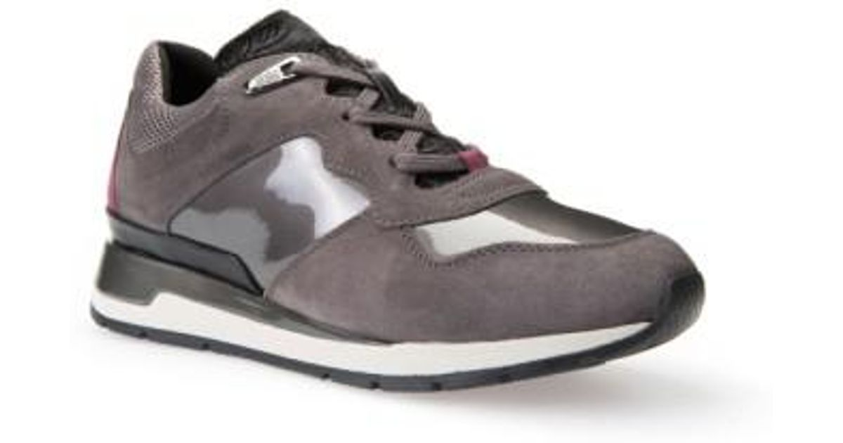 62c482bd404 Geox 'Shahira' Sneaker Lyst in Gray nwm0N8