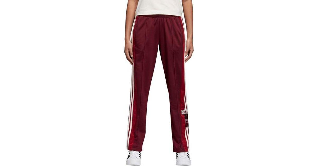 c6adaef38 adidas Originals Adibreak Tearaway Track Pants in Red for Men - Lyst