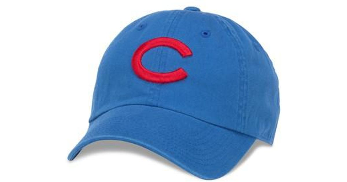 1ef85bcb938cb1 American Needle 1938 Chicago Cubs Southpaw Ball Cap in Blue for Men - Lyst