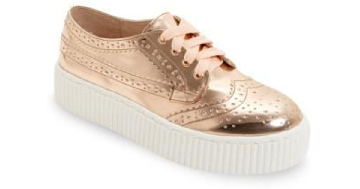 Shellys London Dilys Platform Leather Derby Sneaker mnDgJorET