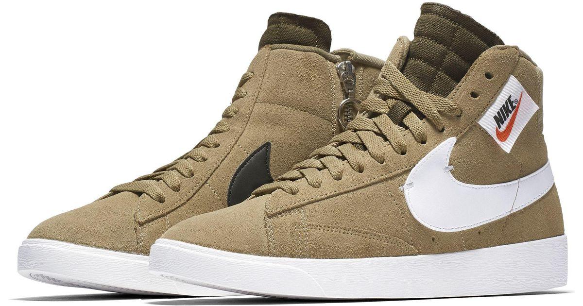 2d9dfecd6c0324 Lyst - Nike Blazer Mid Rebel Sneaker in Brown