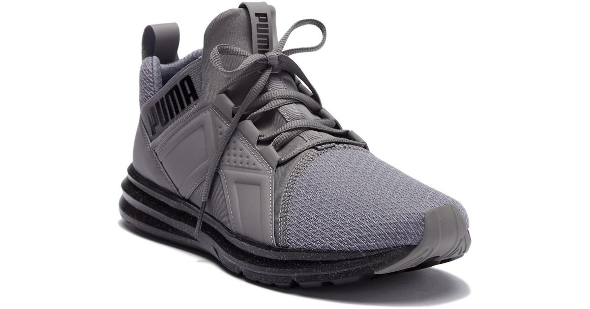 72da21dc6064 Lyst - PUMA Enzo Speckle Stretch Sneaker in Gray for Men