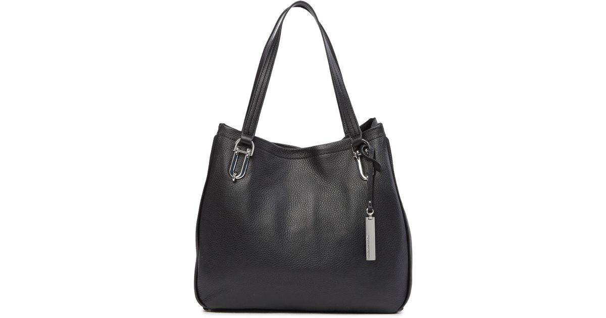 c858c781d2 Lyst - Vince Camuto Leany Leather Tote Bag in Blue