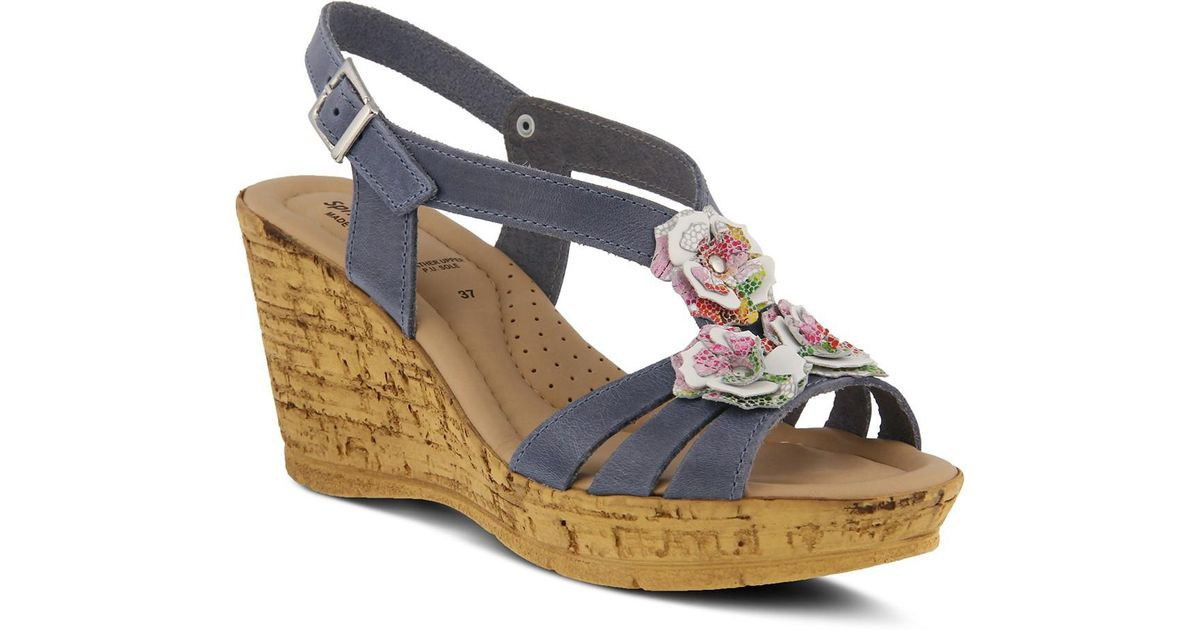 Spring Step Teomina Women's ... Wedge Sandals UH3V6