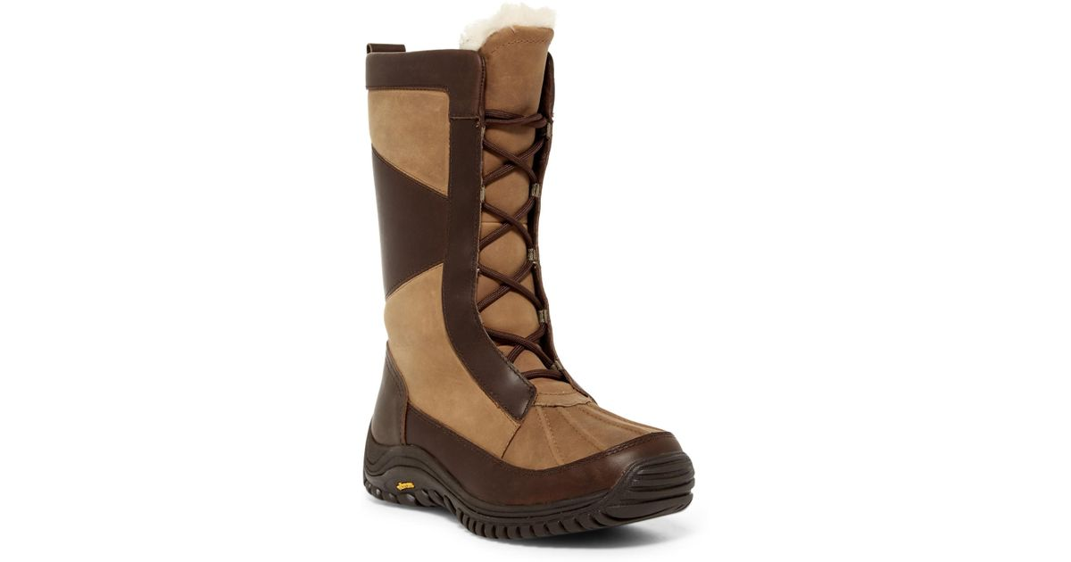 7c85ea61d8a Ugg - Brown Mixon Waterproof Snow Boot - Lyst