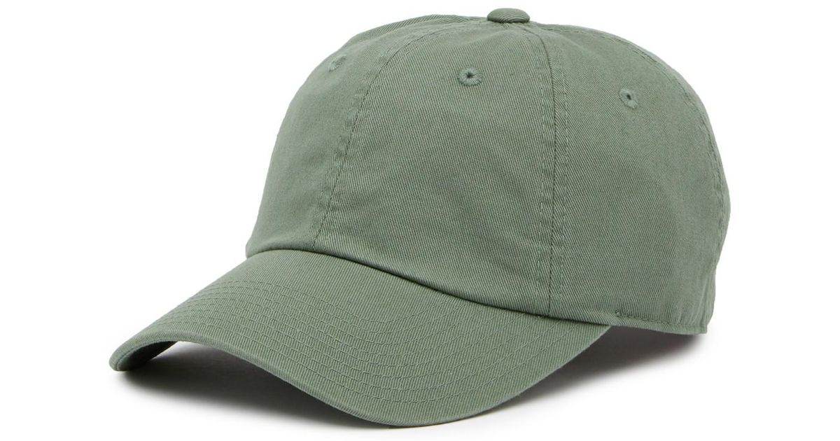 087598f51ba7c4 Lyst - American Needle Washed Slouch Baseball Cap in Green for Men