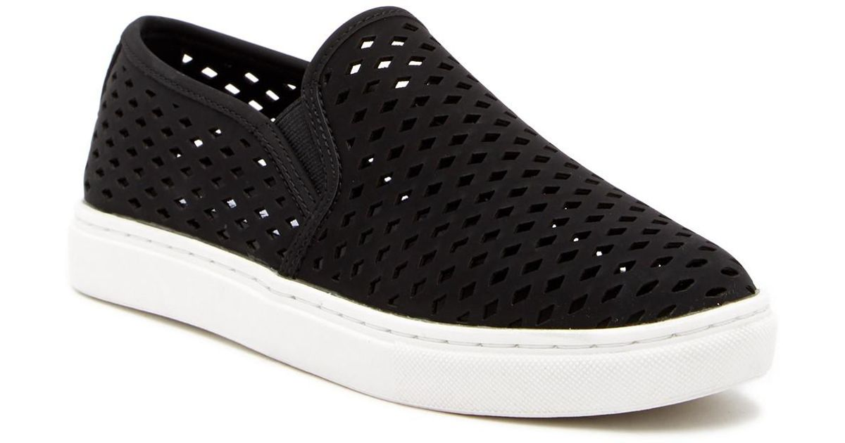 7fb2a6267ff Lyst - Steve Madden Zeena Slip-on Sneaker in Black