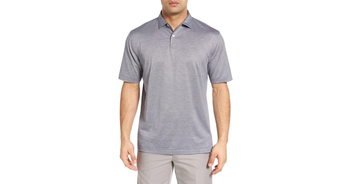Lyst Peter Millar Nanoluxe Golf Polo For Men Save 30