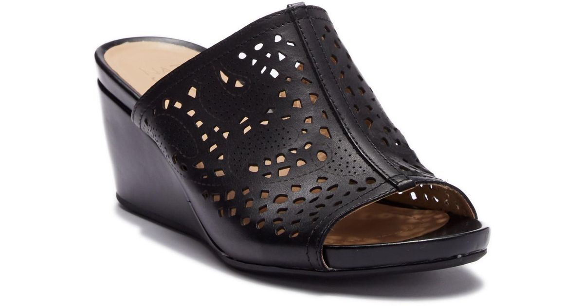 c25e569c8cf9 Naturalizer Charlotte Perforated Wedge Sandal Wide Width Available ...