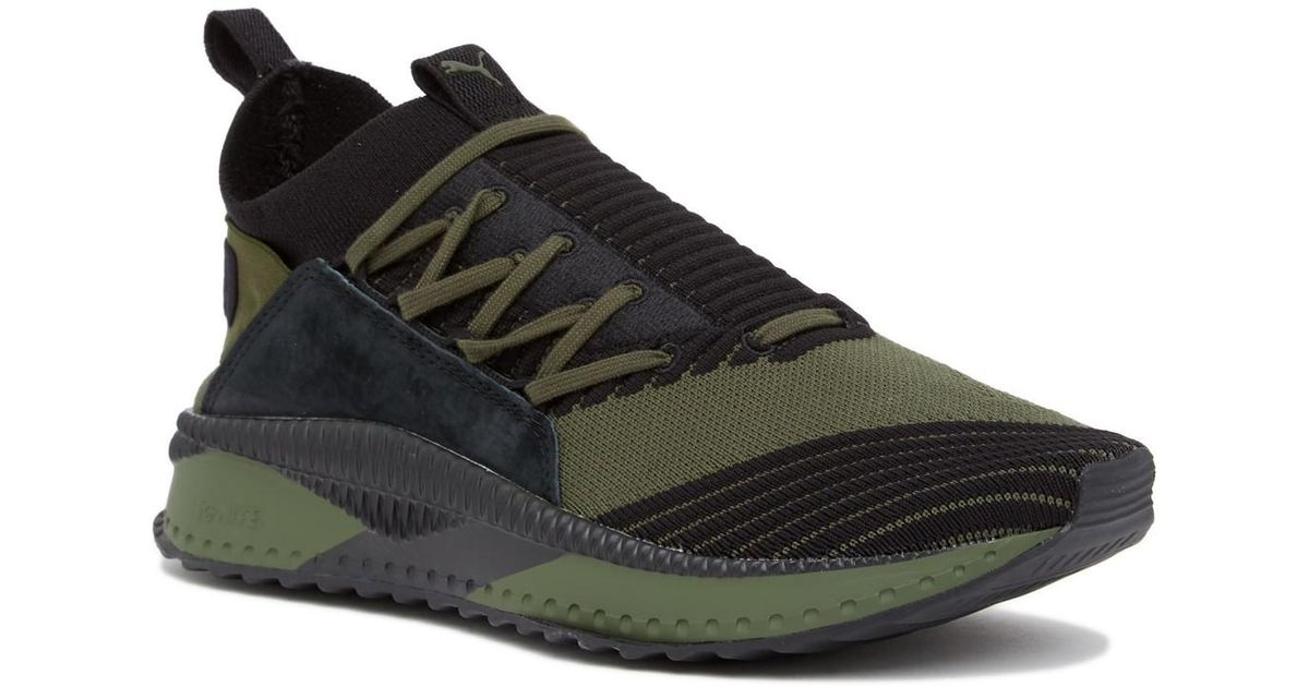 34bde8cdb33a Lyst - PUMA Tsugi Jun Leather Lace-up Sneaker in Green for Men
