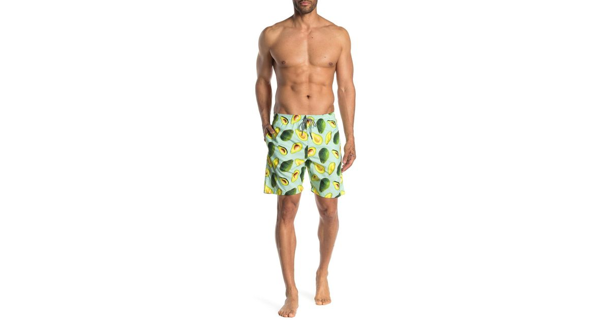24e44d7d62 The Narrows Avocado Volley Swim Shorts in Green for Men - Lyst