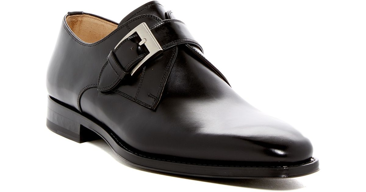 magnanni shoes tudanca buckle dress shoe in black for