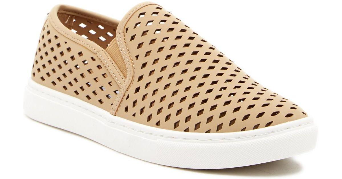 5ce4dd84fde Lyst - Steve Madden Zeena Slip-on Sneaker in Natural