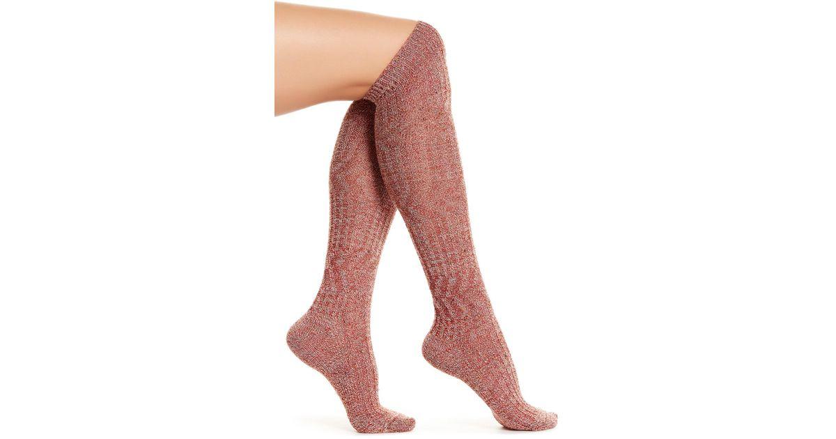 50ca65da3 Lyst - Smartwool Wheat Fields Knee-high Socks in Red