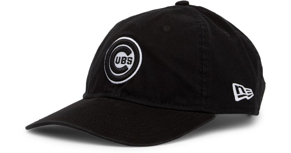 1a50ac98f6d authentic ktz chicago cubs cap in black for men lyst 0dba3 2f0be