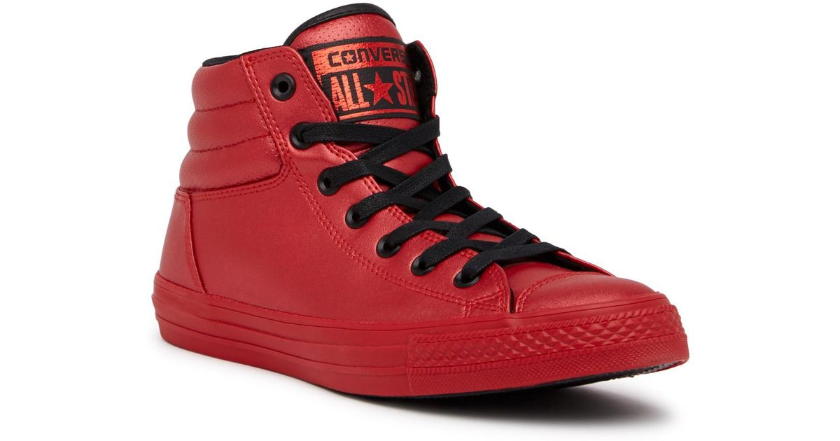 Lyst - Converse Chuck Taylor All Star Fresh Hi-top Sneaker (men) in Red for  Men d6d213090