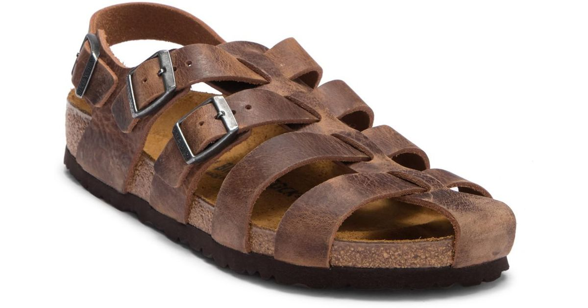 62234eb6b965f Lyst birkenstock zadar leather caged sandal discontinued in brown for men  jpeg 1200x630 Birkenstock zadar