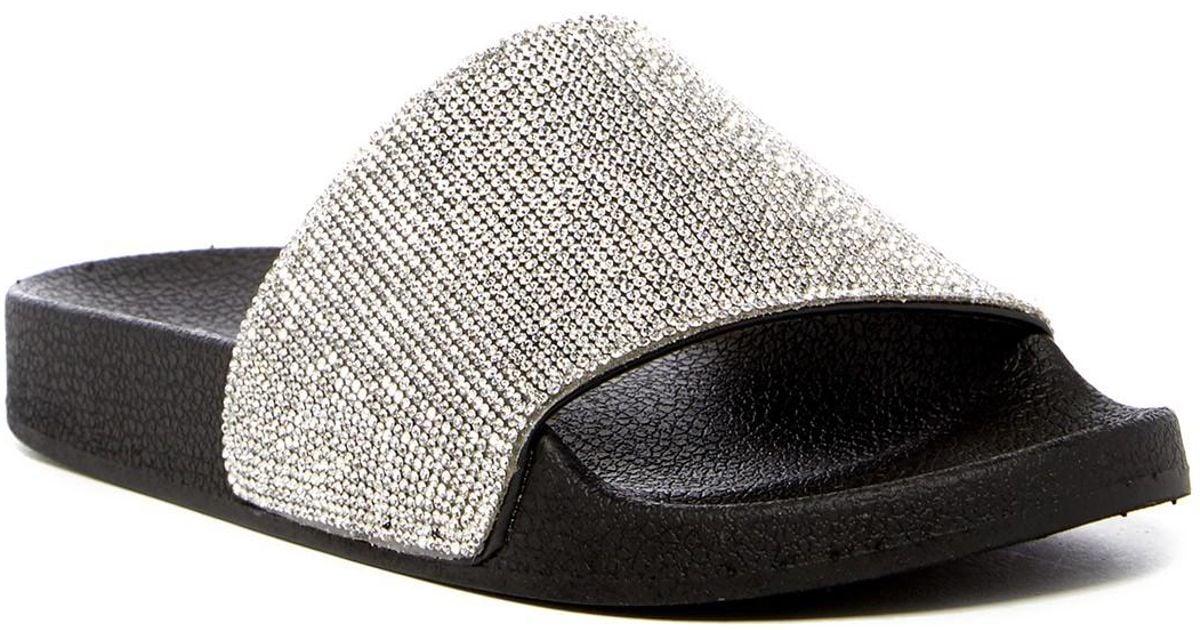 3f5877ec6f1 Lyst - Steve Madden Fancy Sandal