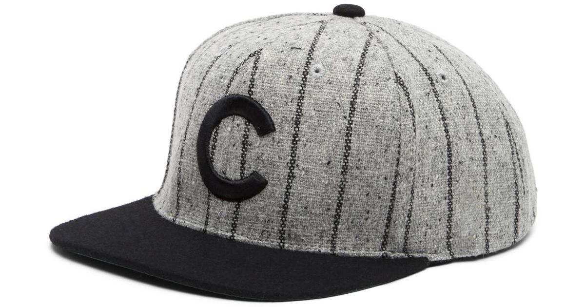 69aaccd98e5 ... inexpensive lyst american needle 400 series chicago cubs baseball cap  in gray for men 22c1c 08c29