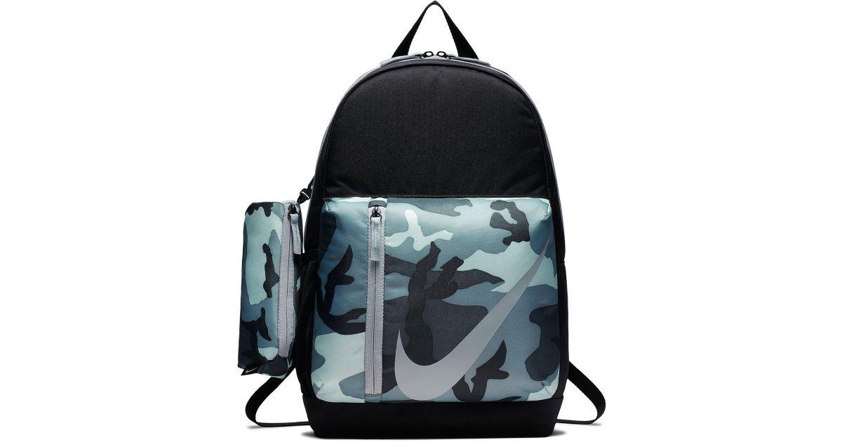 Lyst - Nike Elemental Backpack - Camo in Black f6154bdf03fdb