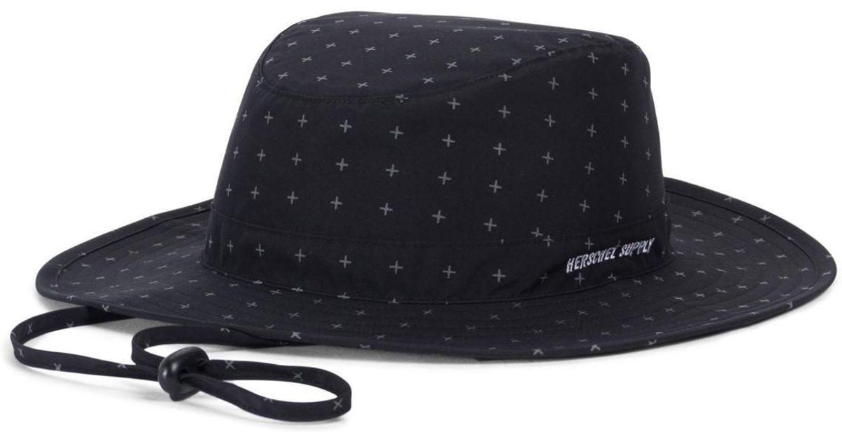 Lyst - Herschel Supply Co. Creek Gore-tex(r) Bucket Hat for Men 84f1230169