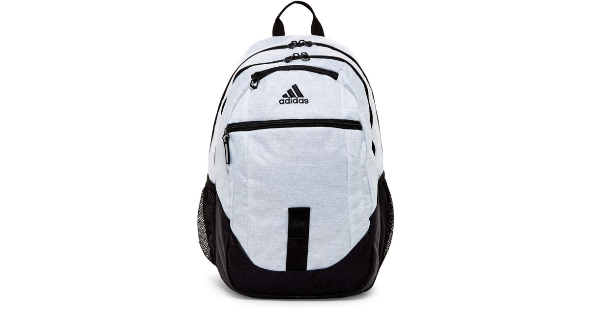 ba40d5b5d94b ... Lyst - Adidas Foundation Iii Backpack in White ...