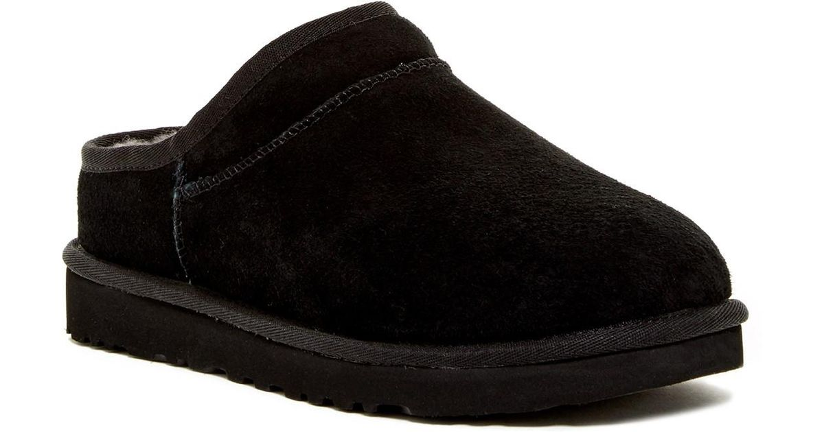 31035a79d86bc Lyst - UGG (r) Classic Water Resistant Slipper (women) in Black
