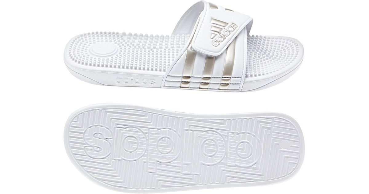 a473467a982c Lyst - adidas Adissage Slide Sandal in White for Men
