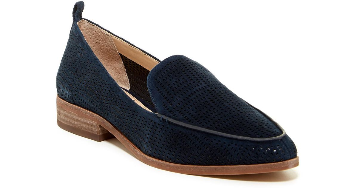 05e7df7b616 Lyst - Vince Camuto Kade Cutout Loafer in Blue
