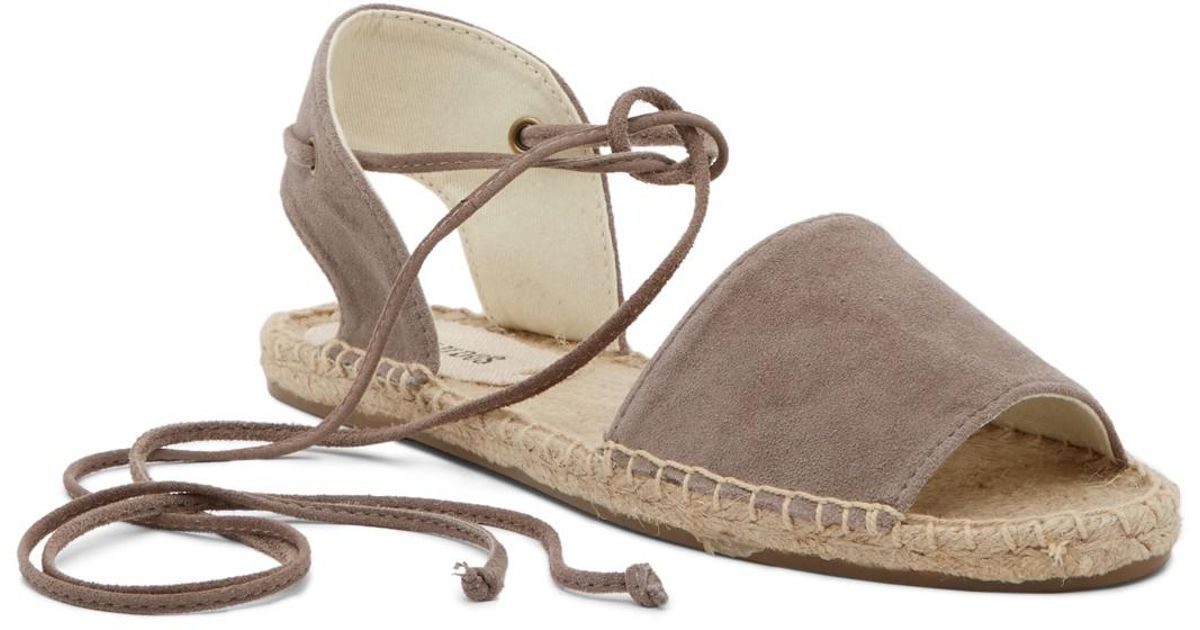 015ed70be3c9 Lyst - Soludos Balearic Tie Up Sandal