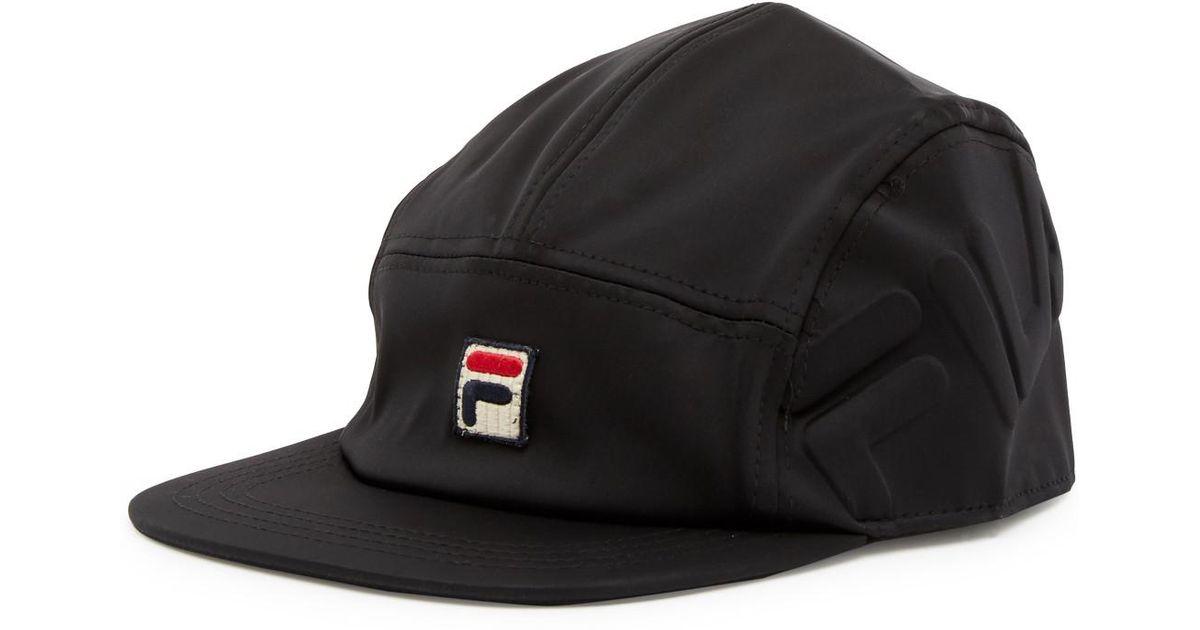 eb16320308d Lyst - Fila Heritage Neoprene 5 Panel Camper Hat in Black for Men