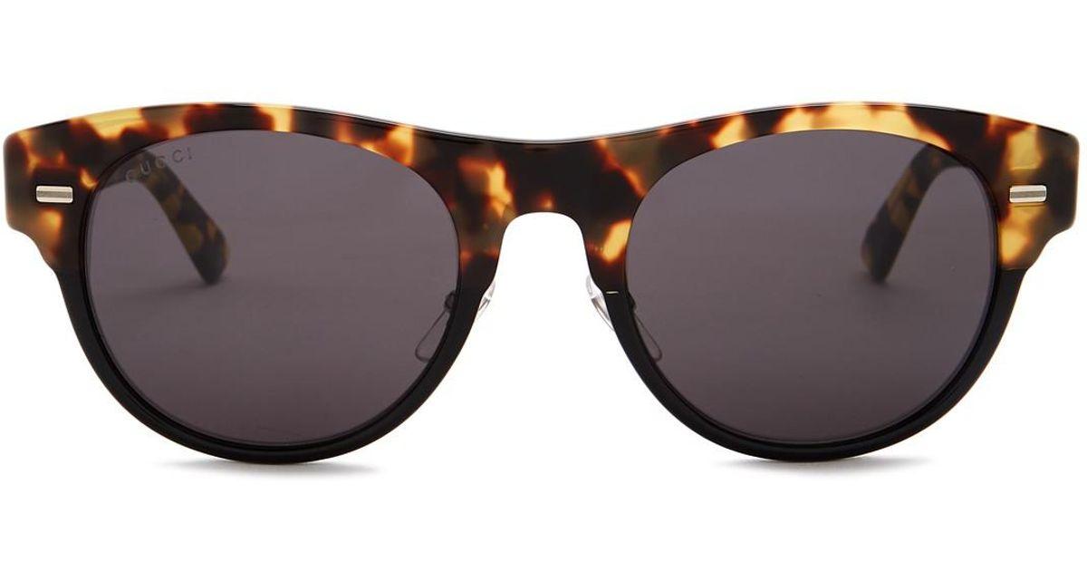 814eba6b540 Lyst - Gucci 53mm Clubmaster Sunglasses for Men