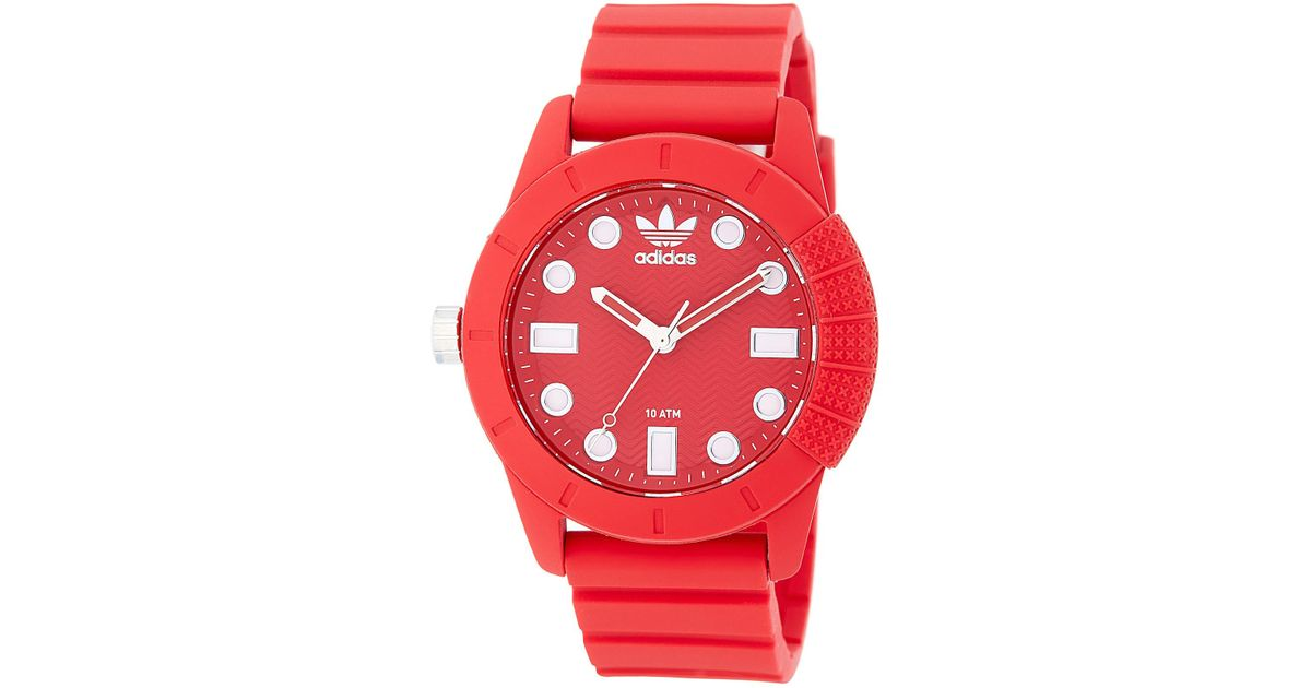 Lyst Reloj hombre Adidas Originals Unisex 1969 Reloj de silicona para en rojo para hombre 0595fe4 - sulfasalazisalaz.website