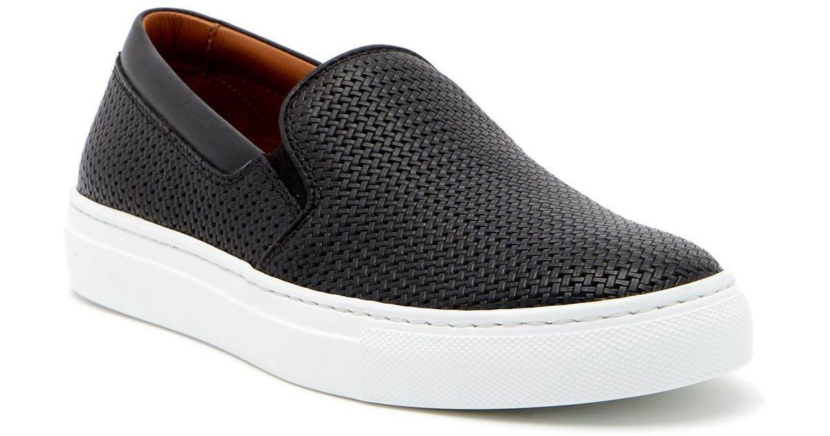 2d7b841f419 Lyst - Aquatalia Alisha Waterproof Leather Sneaker in Black - Save 66%
