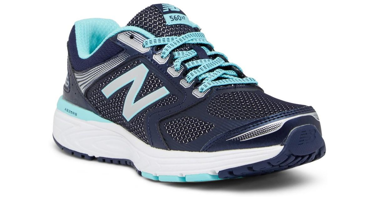 97e1127da01c Lyst - New Balance 560 V7 Running Shoe - Wide Width Available in Blue