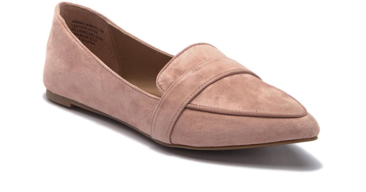 c5acbb0d4f7 Steve Madden Jainna Suede Penny Loafer in Brown - Lyst