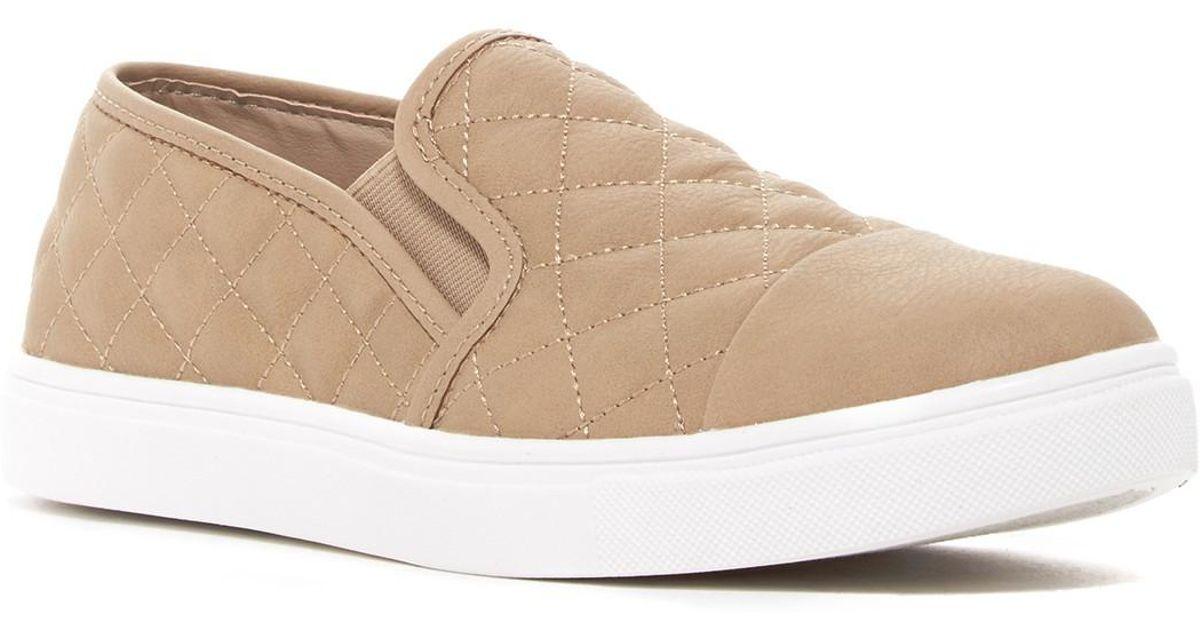 c6bb38d86a1 Lyst - Steve Madden Zaander Slip-on Sneaker in Brown