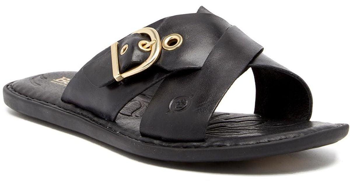 Born Marina Leather Sandal 8Soww9LC