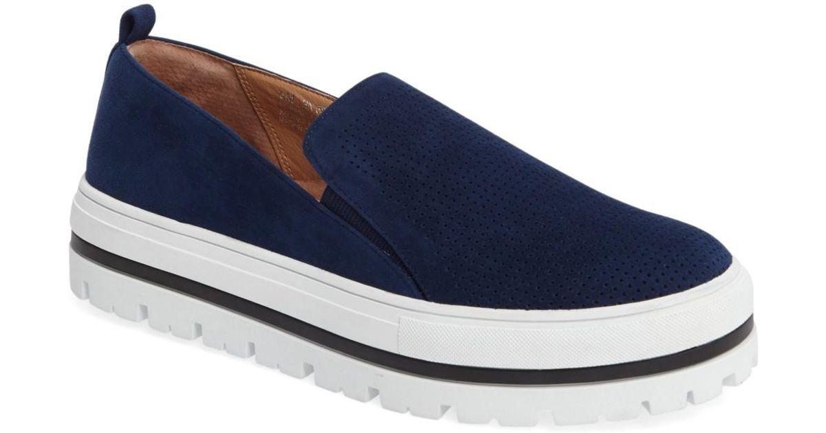 6e9cc11bbbf Lyst - Halogen Teagen Sneaker in Blue
