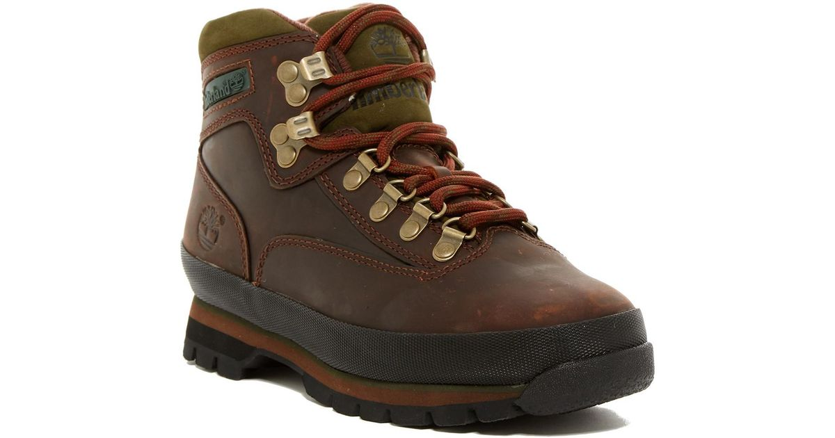 3a76c06212f Timberland - Brown Eurohiker Boot for Men - Lyst