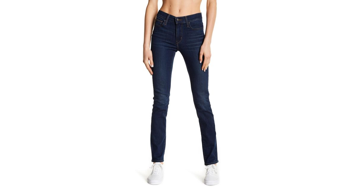 d60e7fb419c1 Levi's Slimming Slim Fit Skinny Jeans in Blue - Lyst