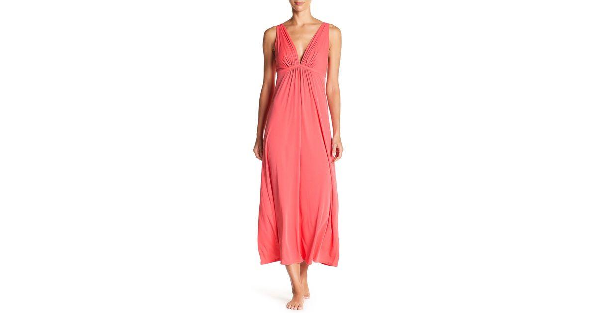 Lyst - Natori Aphrodite Gown in Pink